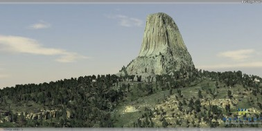 Devil's Tower - 3D Model