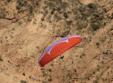 Paraglider - 4,000 ft.